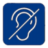 Инвалиды с нарушением слуха