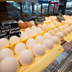 свежие яйца долгоозерный