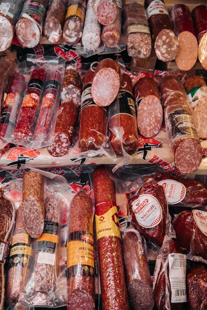 мясные деликатесы Долгозерный