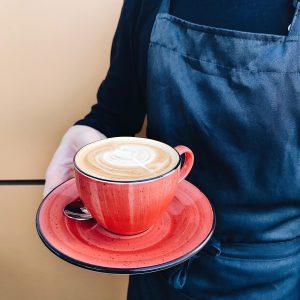 кофе на Долгоозерном рынке