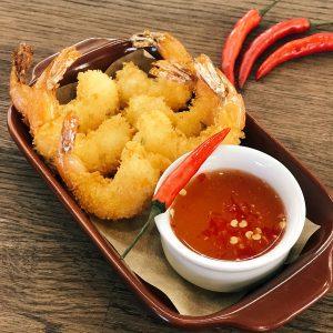 креветки темпура на долгоозерном рынке