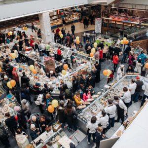 сырный фестиваль на долгоозерном рынке