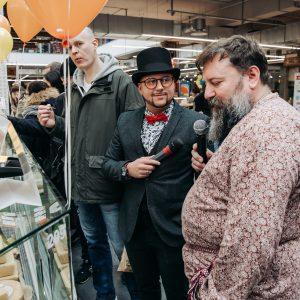 сырный weekend на долгоозерном рынке