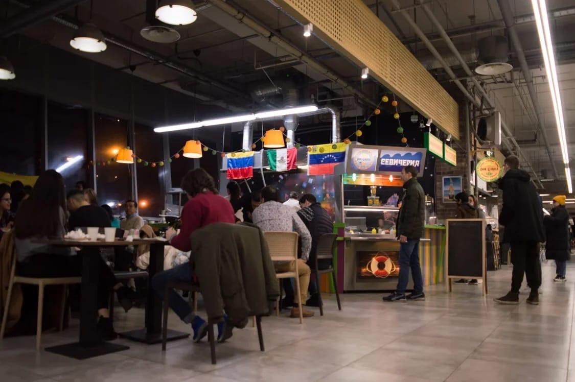 Посадочная зона ресторанов открыта!